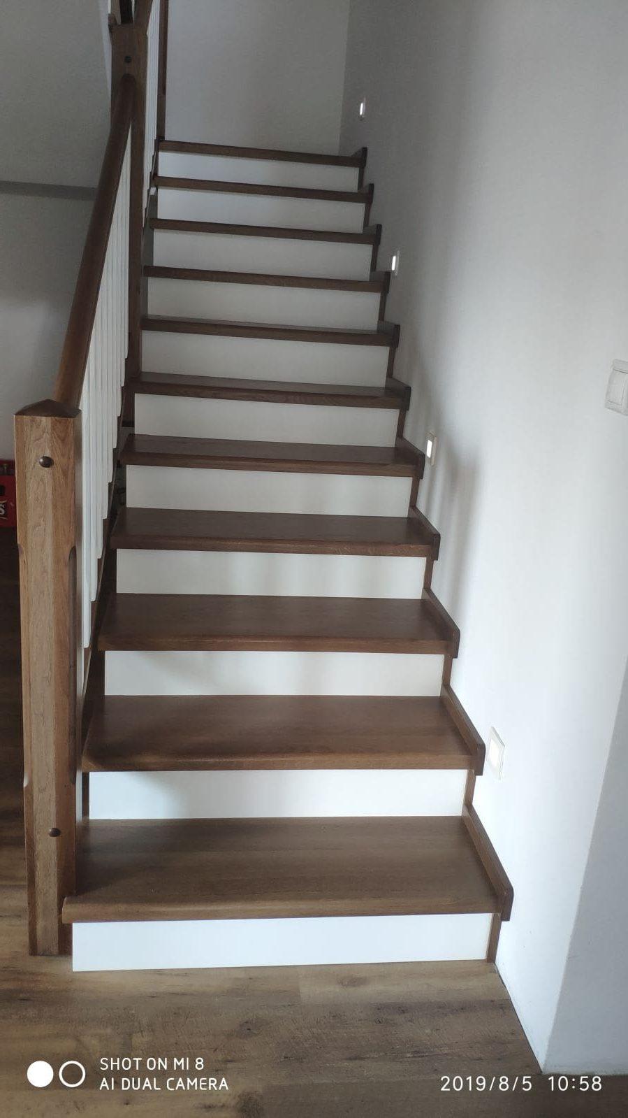 schody drevene vyroba na mieru